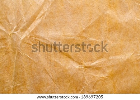 waxed paper - stock photo