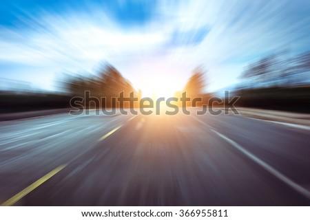 Way fast - stock photo