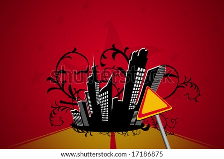 Way to dark city.