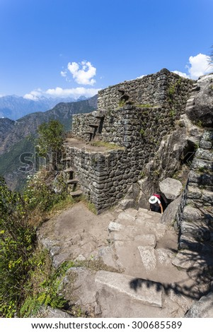 Waynapicchu at Machu Picchu, was designed Peruvian Historical Sanctuary in 1981 and a World Heritage Site by UNESCO in 1983.