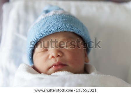 wborn babies to the very young. - stock photo
