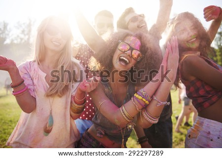 We are at the best festival ever!