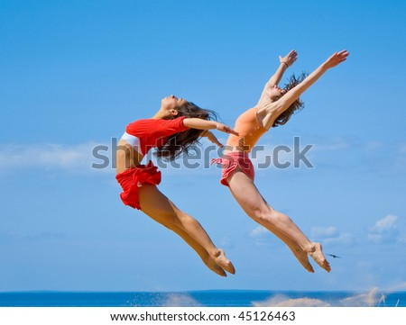 We are like birds, we need to fly - stock photo
