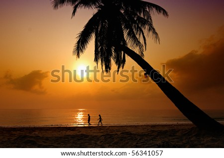 We are together, Thailand - stock photo