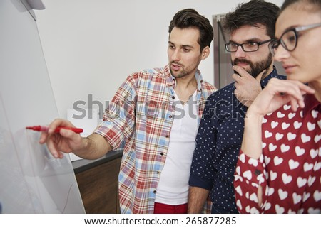 We have to improve the results of our work - stock photo