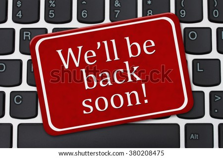 the computer will be back soon essay How do i improve the security of my home computer  back up important files and data before removing unnecessary software in case you accidentally remove software .