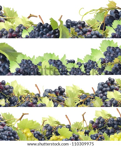 We offer the best grades of grapes - stock photo