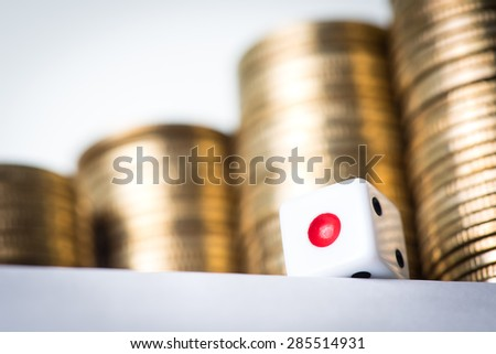 Wealthy Gambling - stock photo