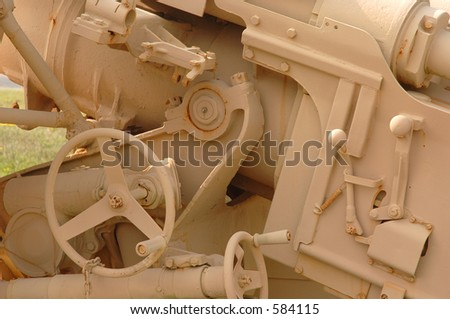 Weapon Controls - stock photo
