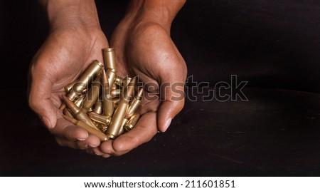Weapon Crisis - stock photo