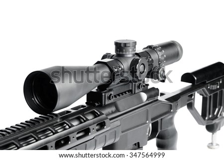 Weapon with optical sight