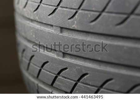Wear indicator of tire