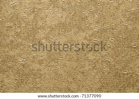 wear out and weathered detail of earth tone background - stock photo