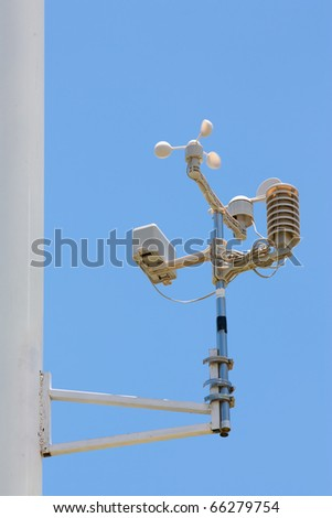 Weather Measurement Instrument - stock photo
