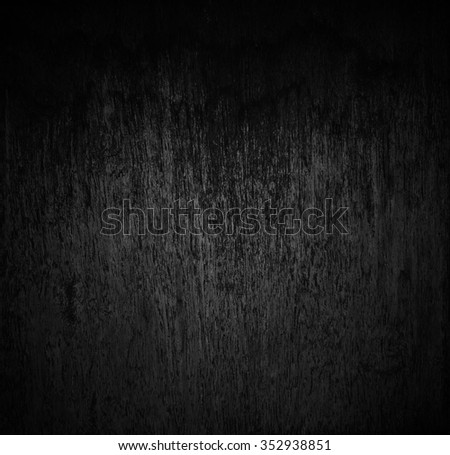 weathered barn wood background with knots. old wood, Black and White color. Monochrome - stock photo