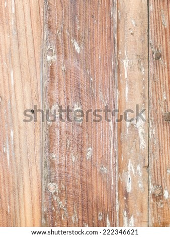 Weathered brown wooden panels,  - stock photo