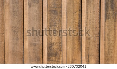 Weathered cedar wooden siding for use as background - stock photo