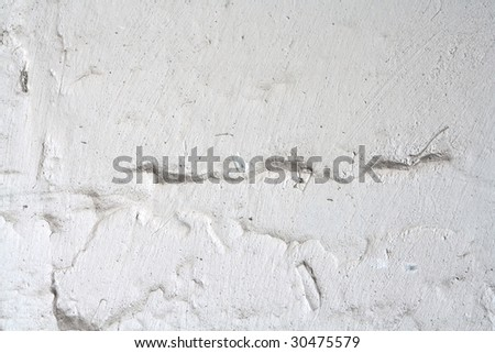 Weathered damaged wall