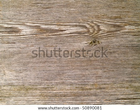 Weathered Gray Wood Grain Background Close Up - stock photo