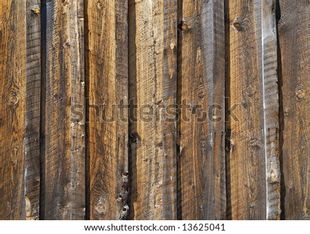 Weathered pine wood texture from the side of a barn