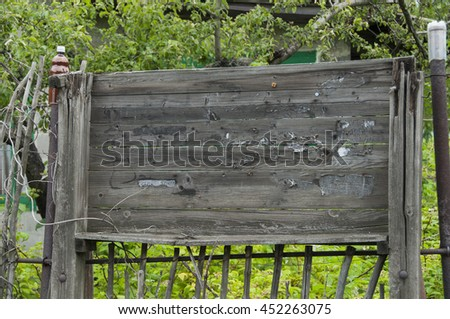 weathered stand