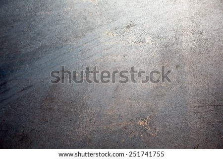weathered steel texture and background - stock photo