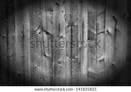 Weathered striped textured aged wooden planks background