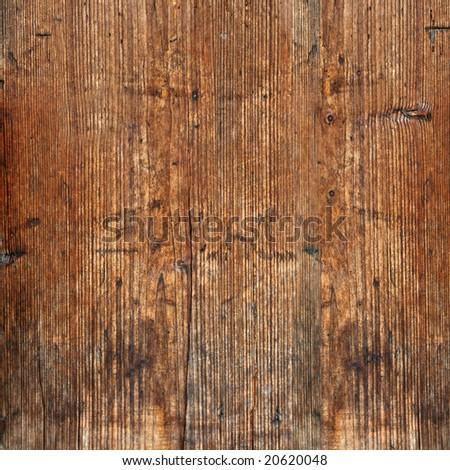 Weathered timber wall - stock photo