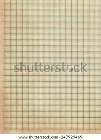 Weathered Vintage Graph Paper