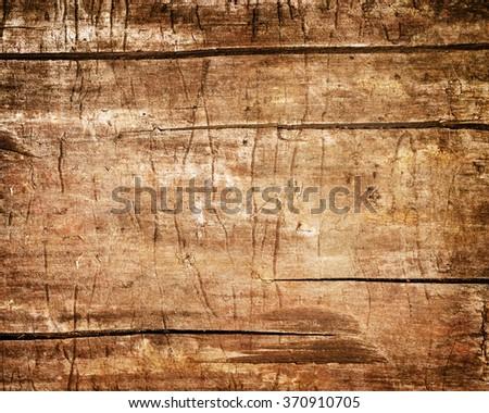 weathered wood background texture - stock photo