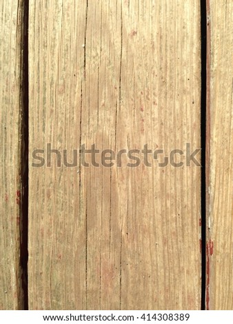 Weathered wood for texture or background  - stock photo