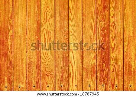 Weathered wooden fence texture - stock photo
