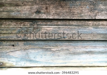 Weathered wooden panels as a background