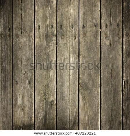weathered wooden wall, grunge background - stock photo