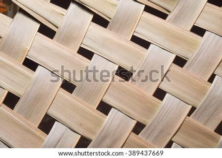 weave leaf - stock photo