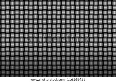 weave metal background or texture