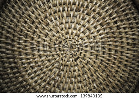 weave pattern, texture background - stock photo
