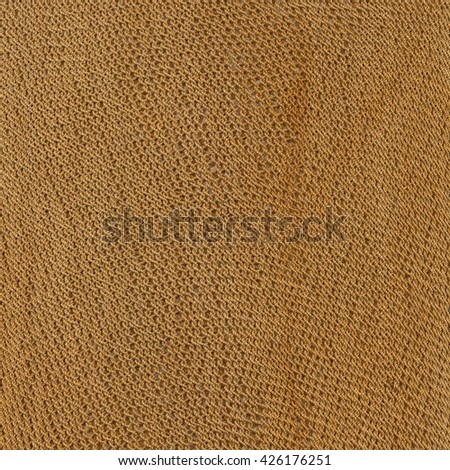 Weave raw ochre background - stock photo