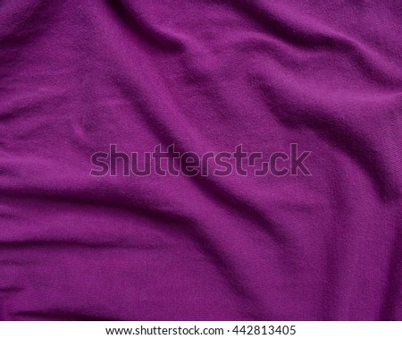 Weaving purple knit fabric texture - stock photo