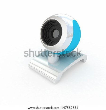 Web-cam - stock photo