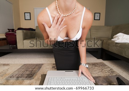 Web Cam Striptease #12.