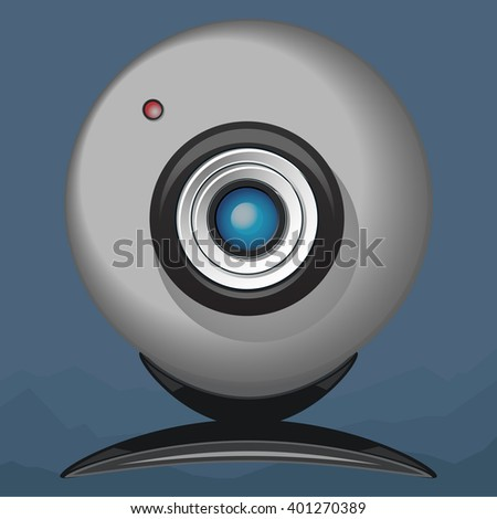 Web camera - stock photo