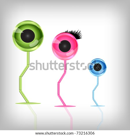 Web camera, digital communication concept - stock photo