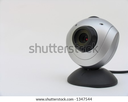 Web camera with text area