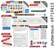 Web Design Element - stock photo