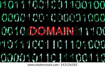 Web Domain - stock photo