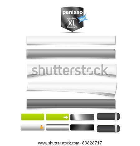 Web graphics - Panixxo series - stock photo