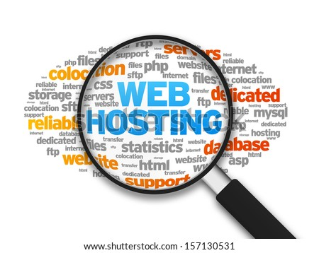 Web Hosting - stock photo