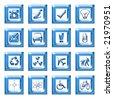 Web icons - stock photo
