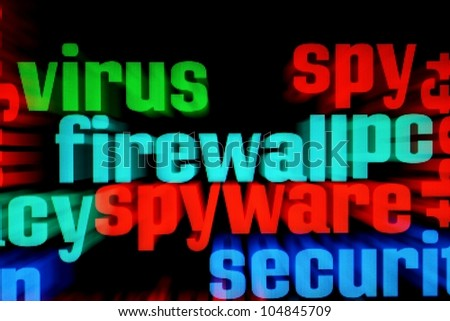 Web security - stock photo